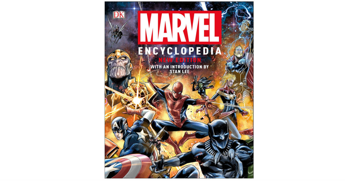 Marvel Encyclopedia ONLY $24.00 (Reg. $40)