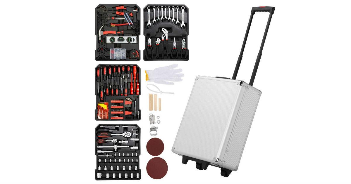 Yaheetech 1099-Piece Tool Box ONLY $76.49 (Reg. $150)