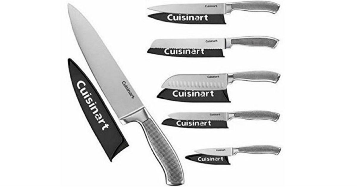 Cuisinart 6-Piece Knife Set ONLY $29.99 (Reg $100)