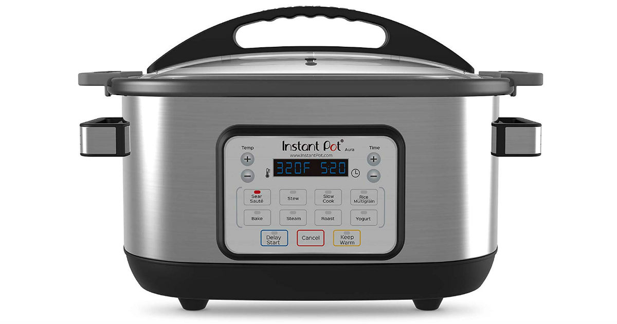 Instant Pot 6-Quart Multicooker ONLY $59.95 (Reg. $130)