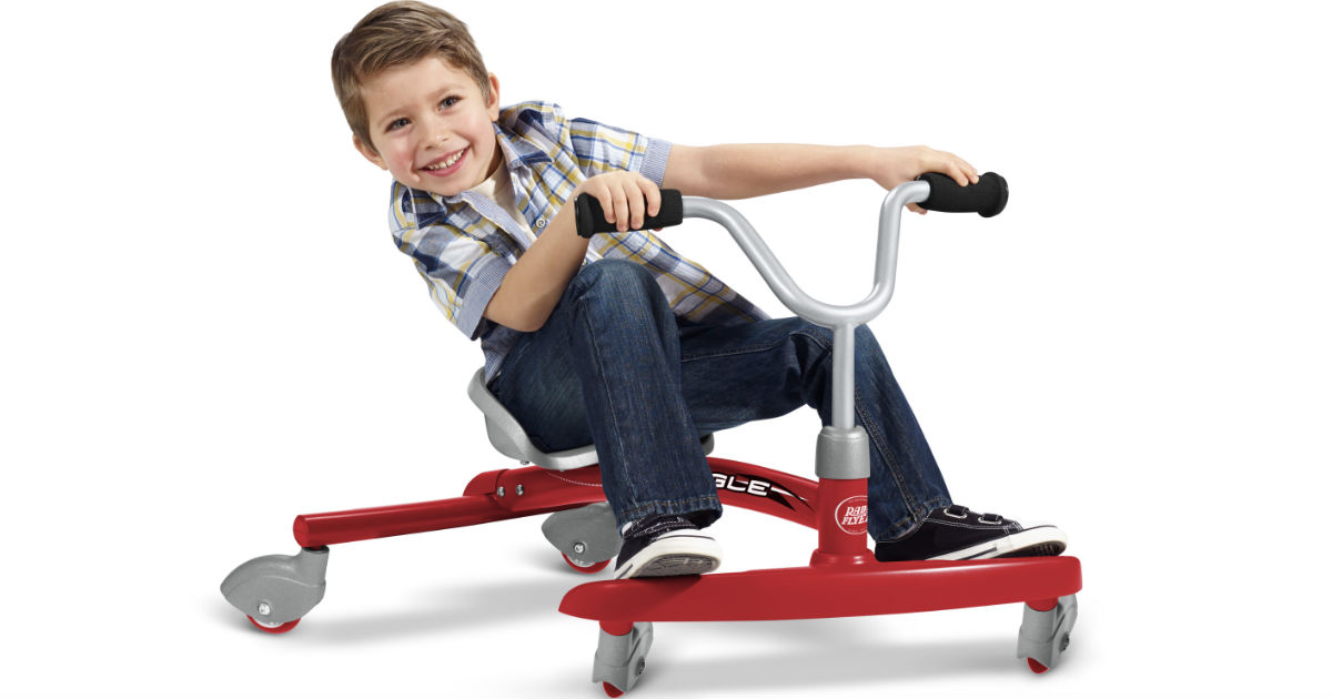 Radio Flyer Ziggle Caster Ride-On ONLY $39.97 (Reg $50)