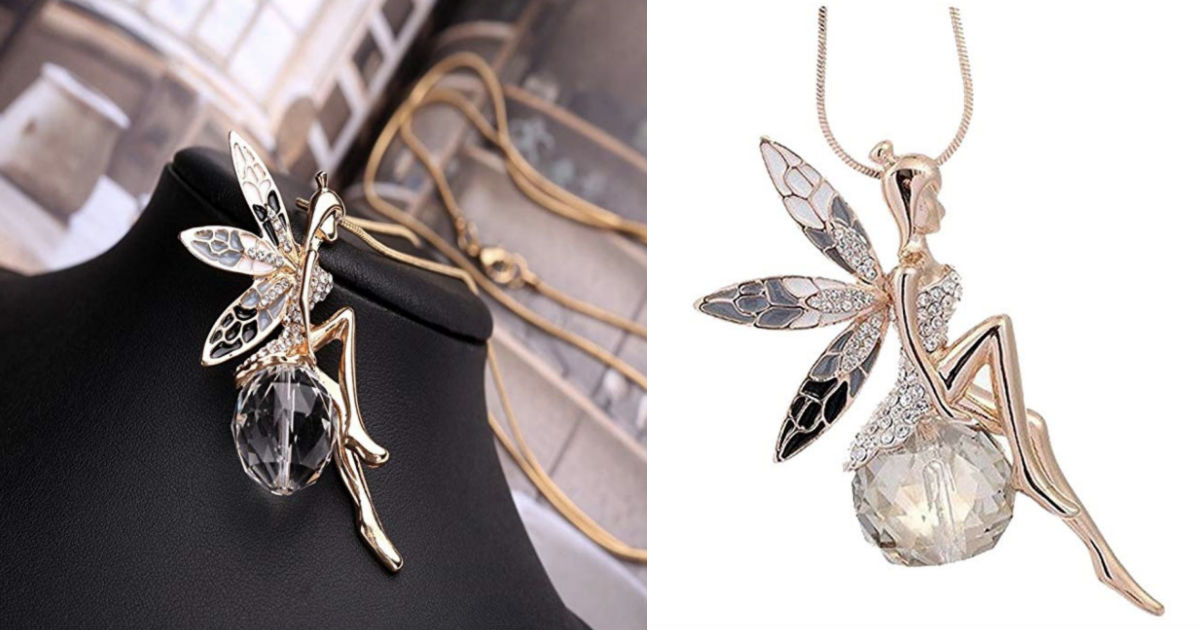 Butterfly Lovely Wings Long Chain Necklace ONLY $4.97 Shipped
