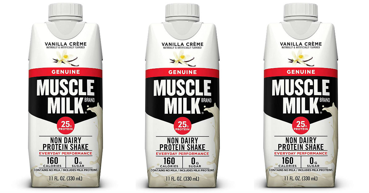 Muscle Milk Genuine Protein Shake 12-ct ONLY $8.82 Shipped