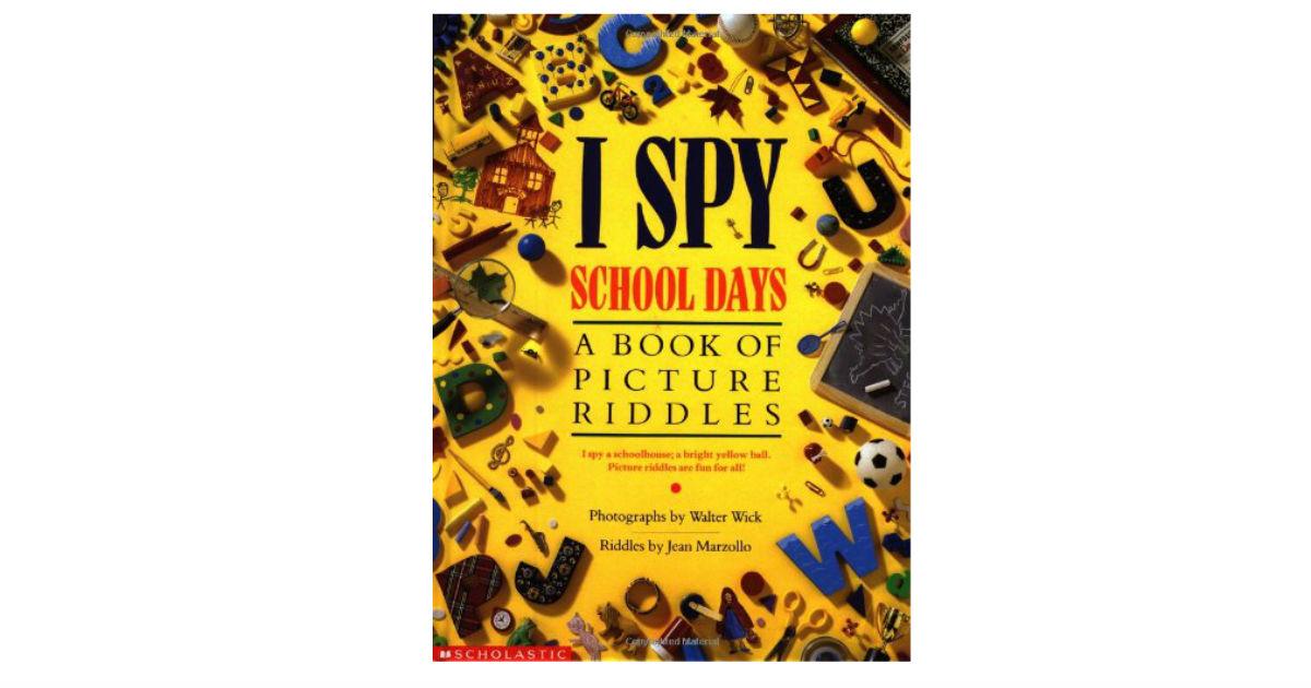 I Spy School Days ONLY $6.24 (Reg. $14)