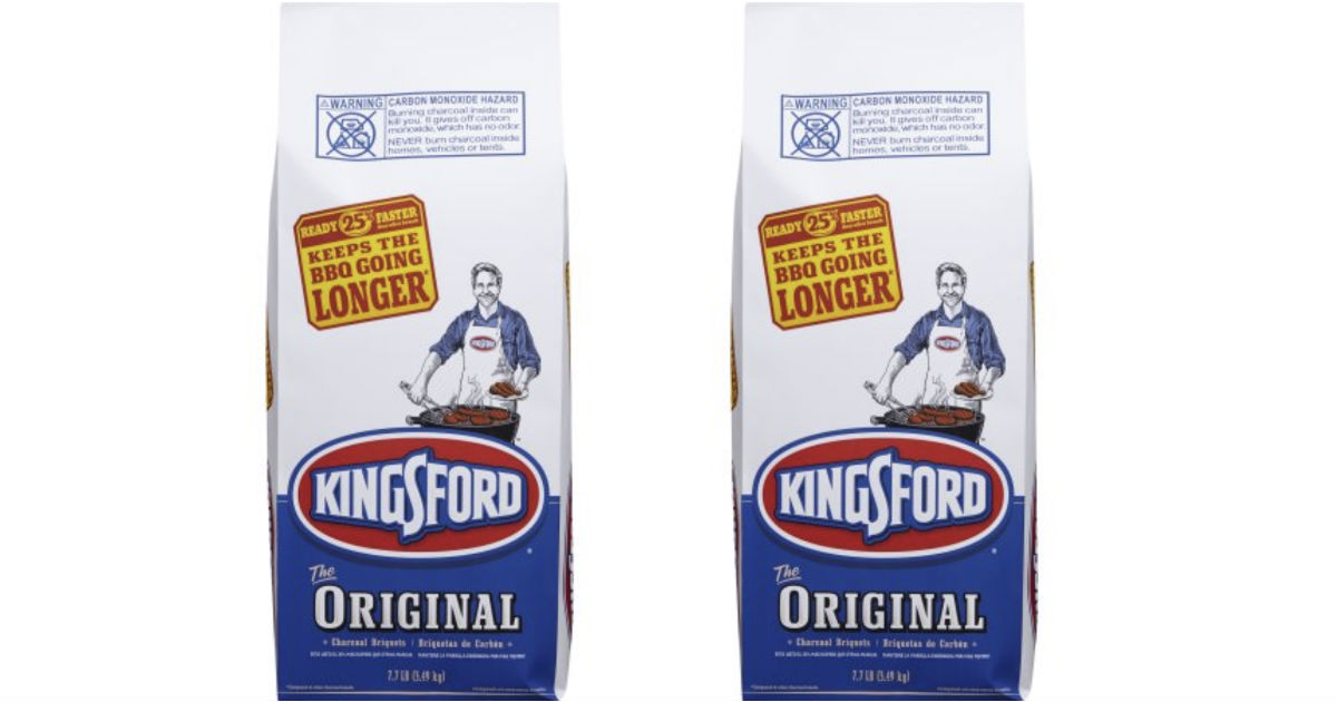 Kingsford Original Charcoal Briquets 8lb ONLY $4.38 at Walmart
