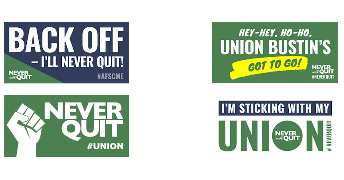 FREE Never Quit Stickers...