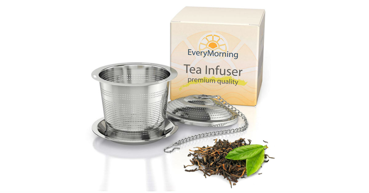 Deluxe Loose Leaf Tea Infuser ONLY $4.74 (Reg. $15)