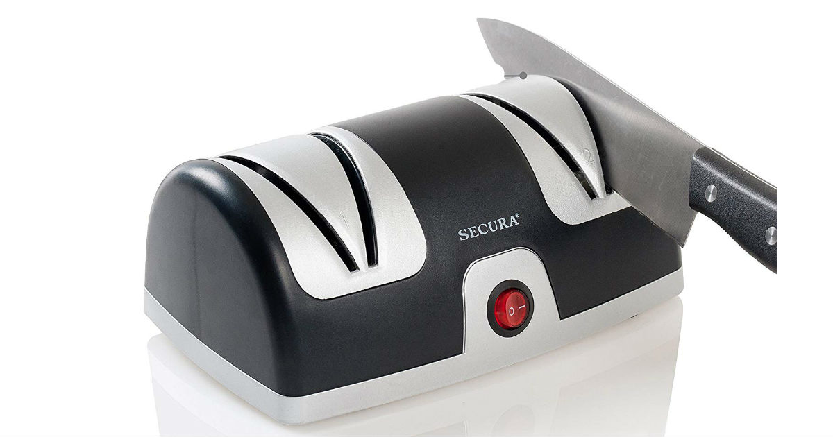 Secura Electric Knife Sharpener ONLY $16.99 (Reg. $40)