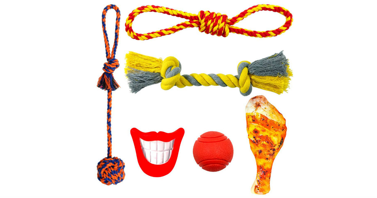 Fairwin Dog Toys ONLY $11.89 (Reg. $24)
