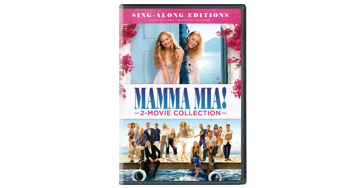 Momma Mia! 2-Movie Collection ONLY $12.99 (Reg. $25)