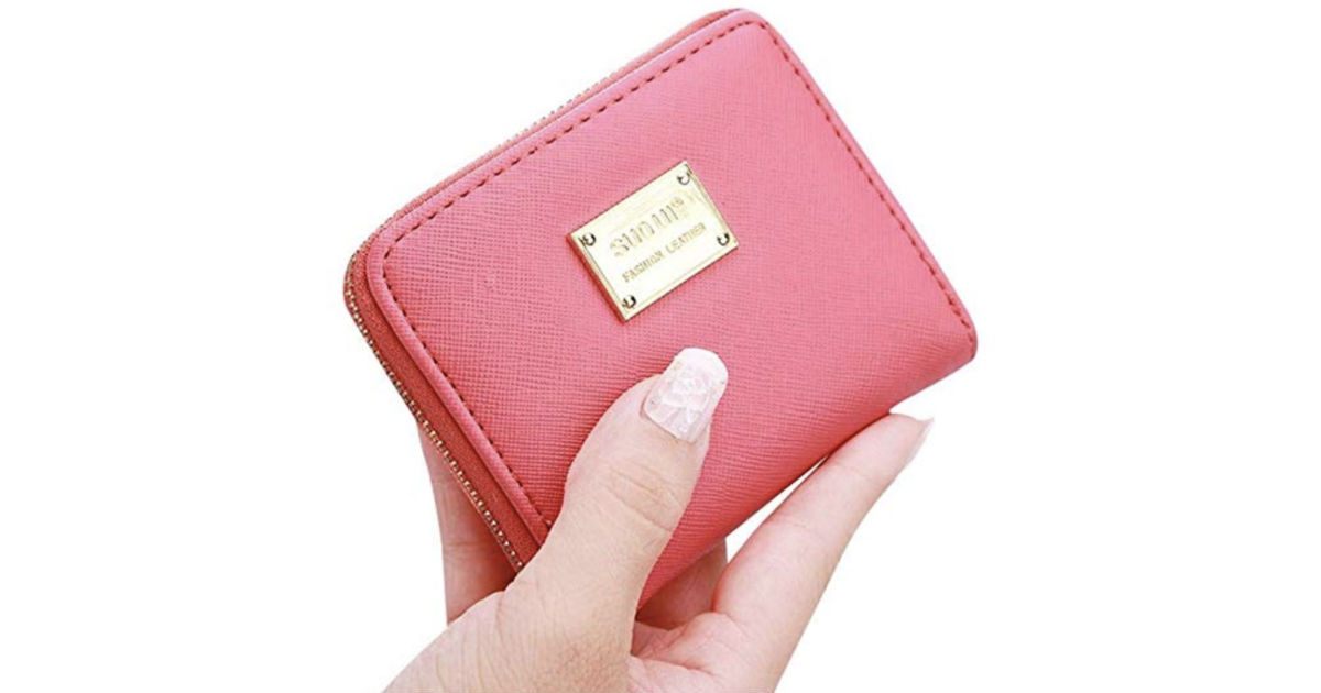 Cute Small Mini Wallet Holder Zip Coin Purse ONLY $4.55 Shipped