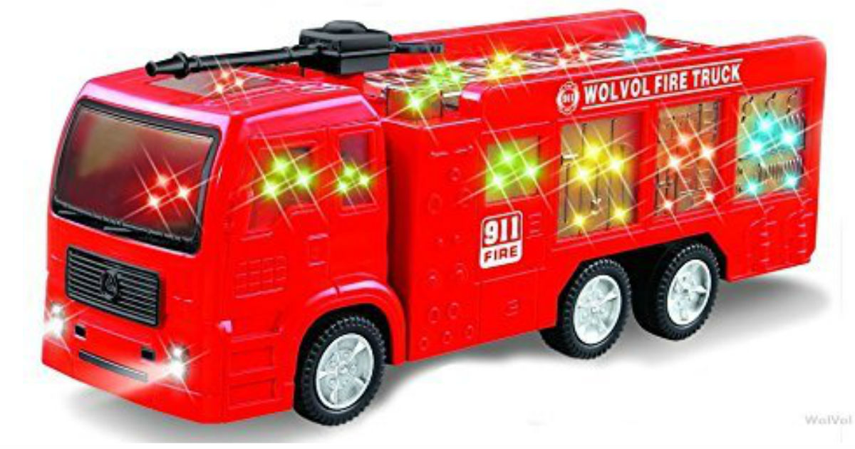 WolVol Electric Fire Truck ONLY $14.99 (Reg. $30)