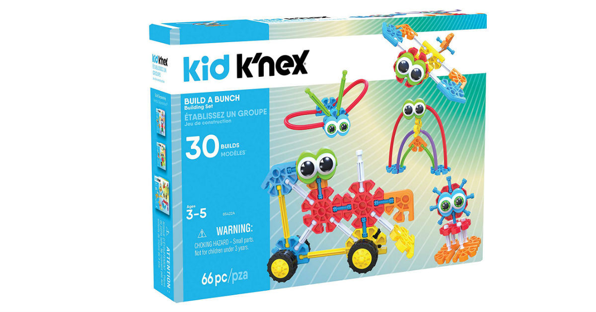 KID K'NEX Build A Bunch Set ONLY $13.25 (Reg. $25)
