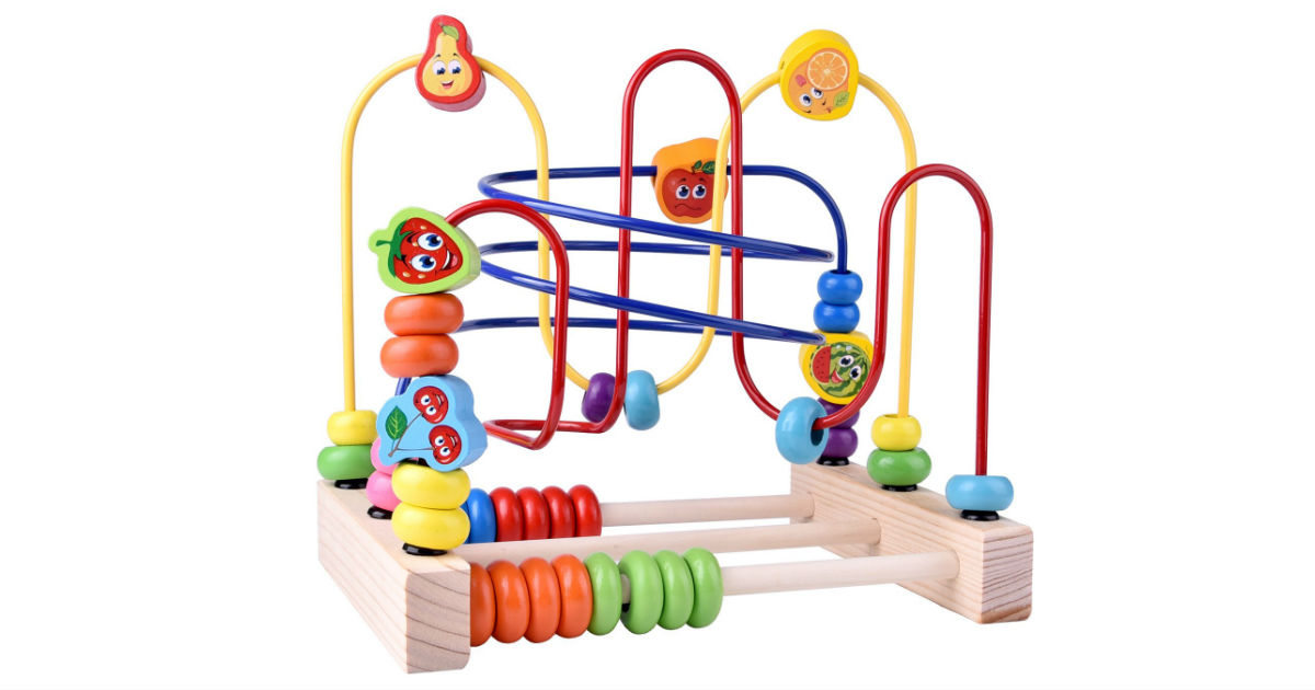 Wooden Beads Maze Toy ONLY $14.40 (Reg. $27)