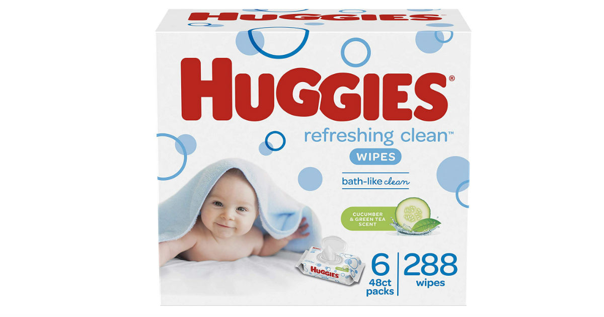 Huggies Baby Wipes 6-Pack ONLY $5.12 Shipped on Amazon
