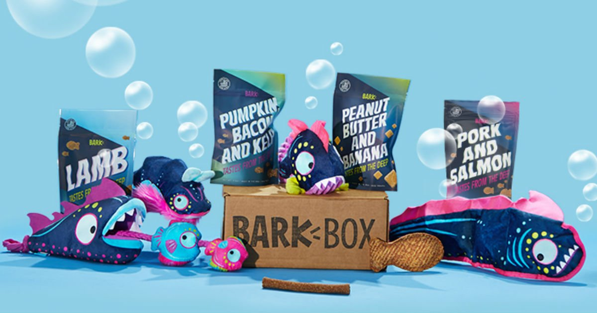 Double Your First BarkBox for.