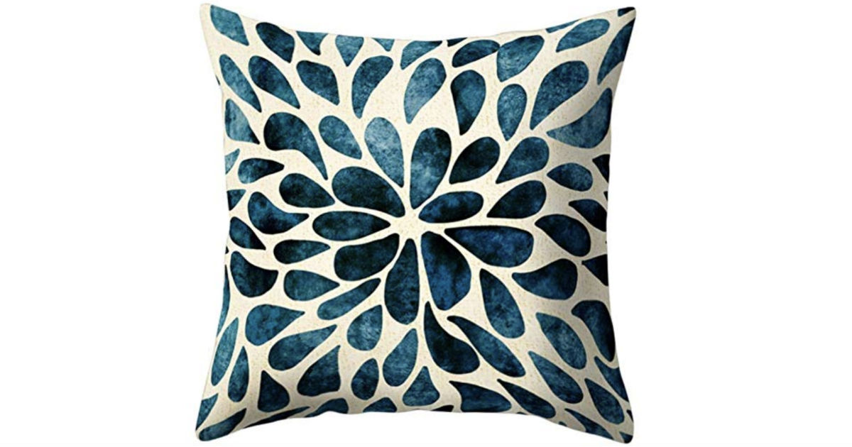 Ameesi Flower Throw Pillow Cover Case ONLY $2.99 Shipped