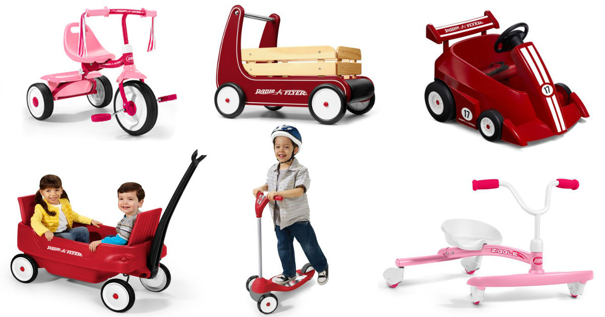 Win a Different Radio Flyer Item Daily - Free Sweepstakes