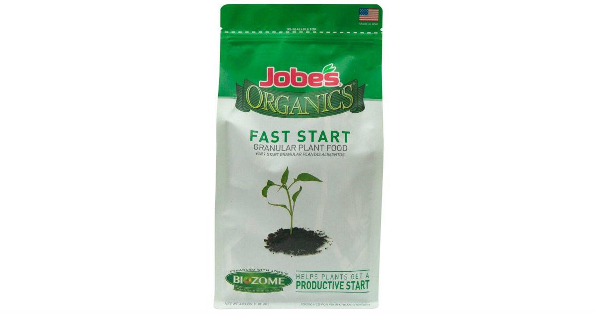 Jobe's Organics Fast Start Plant Food ONLY $8.09 (Reg. $16)