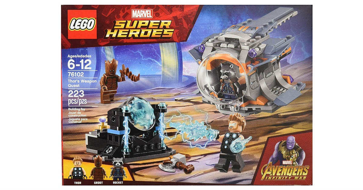 LEGO Marvel Super Heros Avengers Kit ONLY $12.99 (Reg. $20)