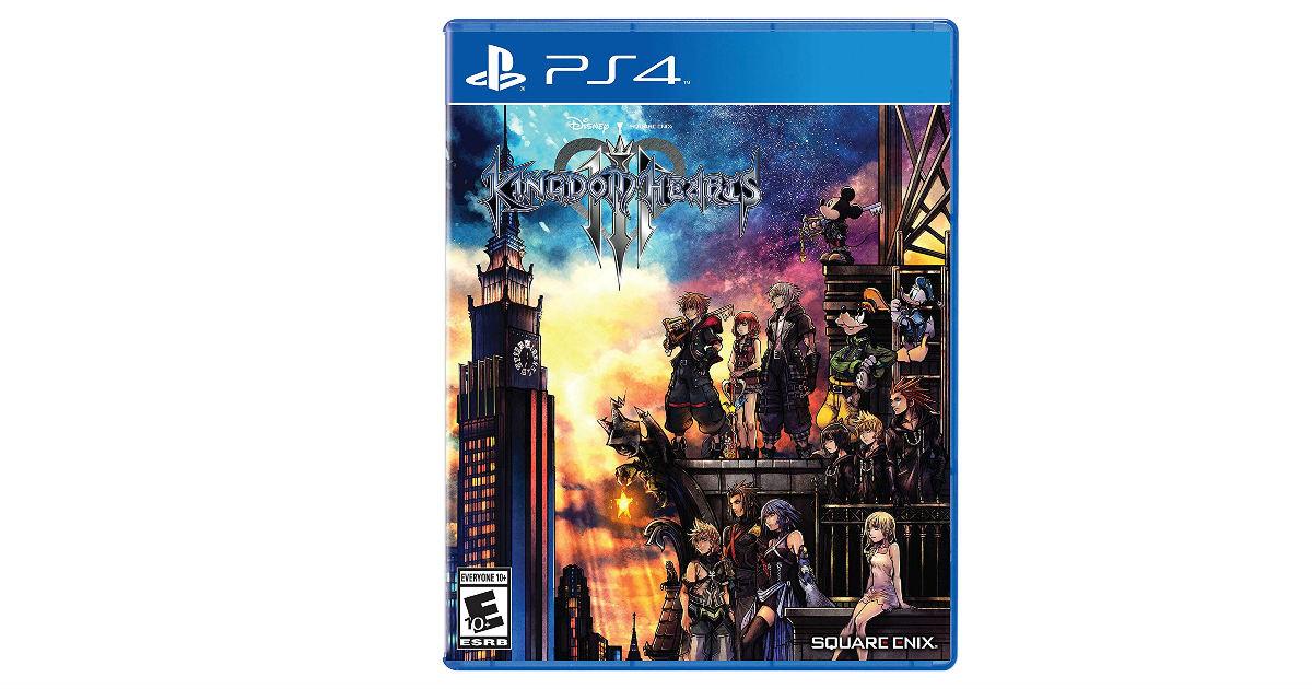 Kingdom Hearts III - Playstation 4 ONLY $29.99 (Reg. $60)