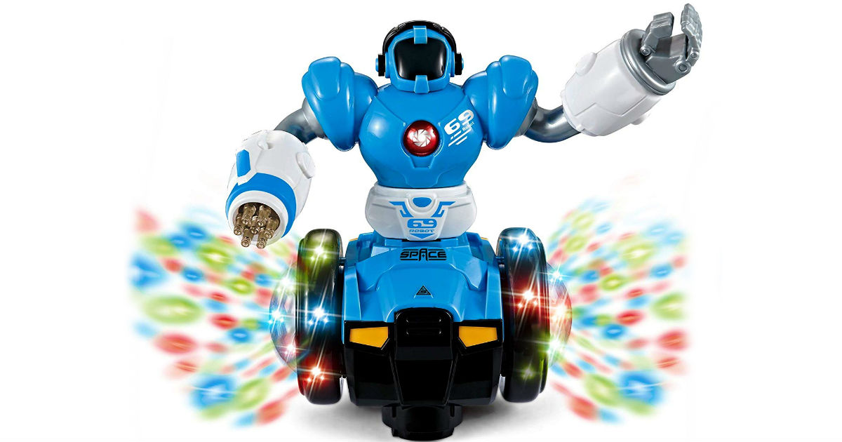 WolVol Bump and Go Robot ONLY $6.99 (Reg. $17)