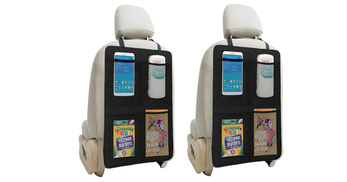 Auto Seat Protector and Organizer ONLY $14.41 (Reg. $30)
