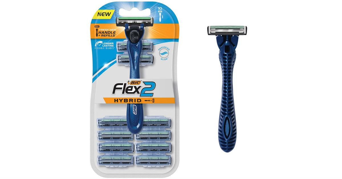 FREE BIC Flex Hybrid Men's Razors at Walmart