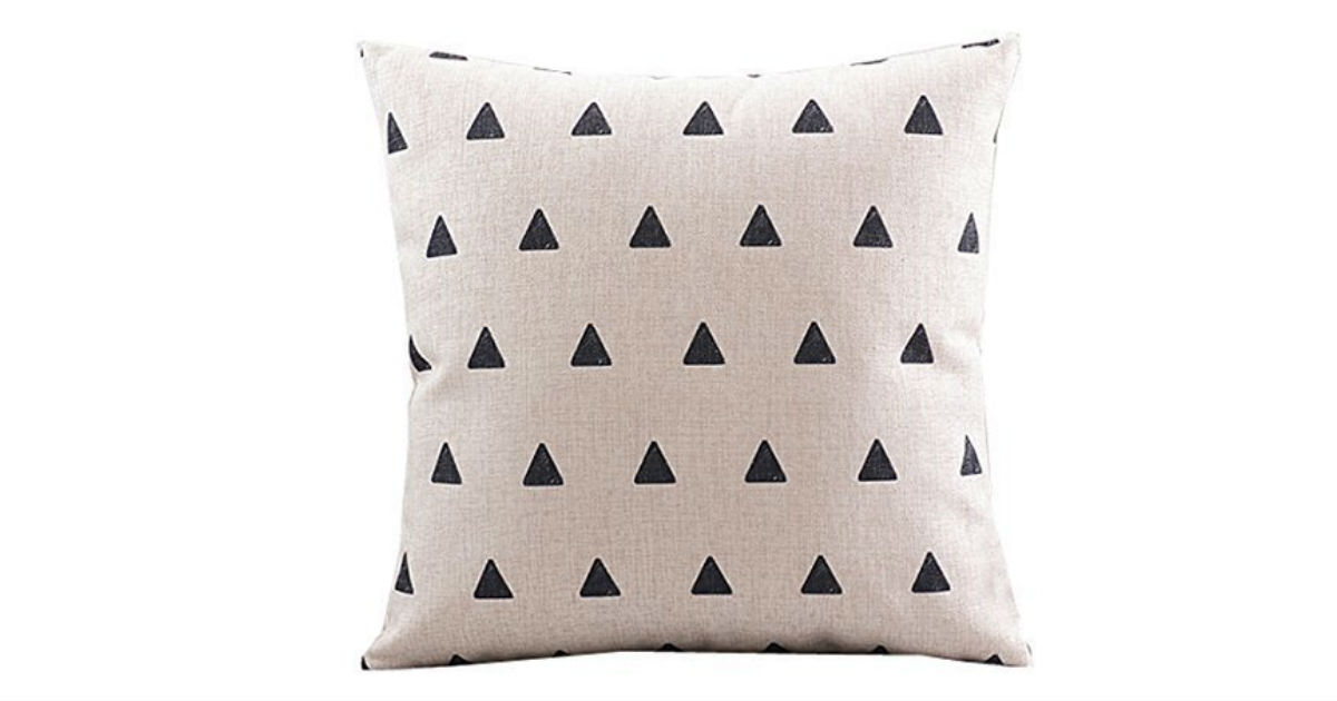 CoolDream Cotton Linen Pillowcase ONLY $2.63 Shipped