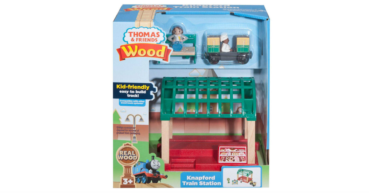 Fisher-Price Thomas & Friends Knapford Train Station ONLY $19.97