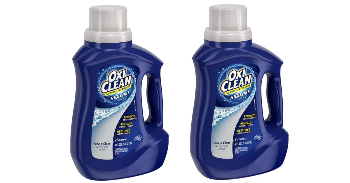 OxiClean Laundry Detergent ONLY $1.99 at Walgreens