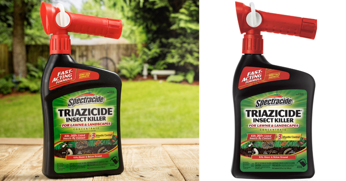 Spectracide Triazicide Ready-to-Spray Insect Killer ONLY $4