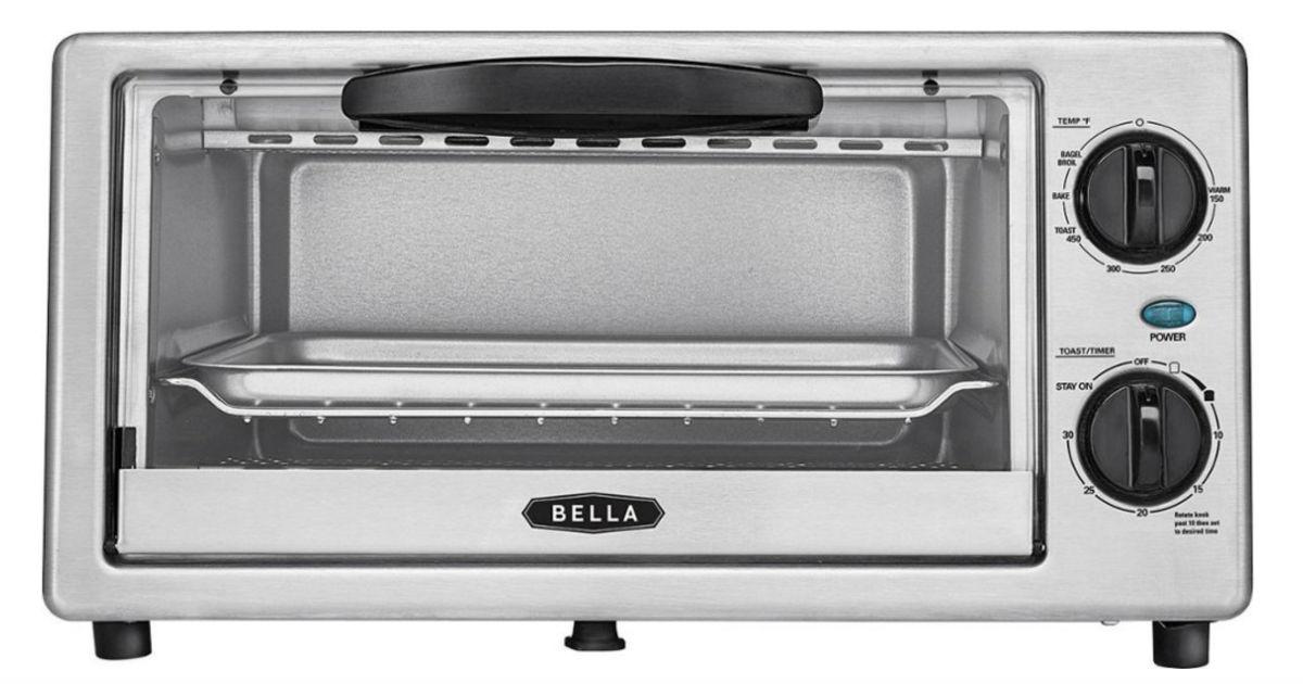 Bella 4-Slice Toaster Oven ONLY $14.99 (Reg $30)
