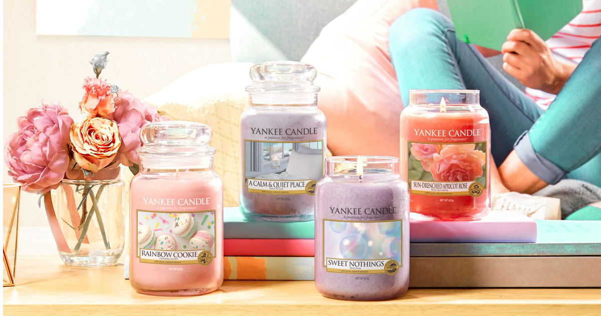 Medium Candles ONLY $8.00 at Yankee Candle (Reg. $26.50)