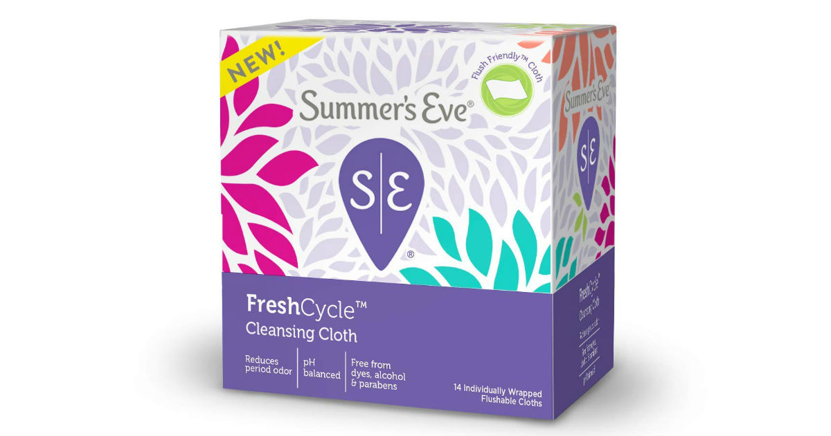 Summer's Eve Cleansing Cloths Only $0.74 at Target