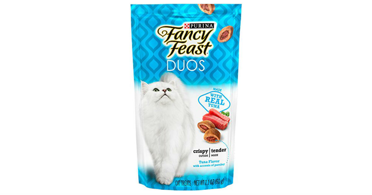 Purina Fancy Feast Cat Treats on Amazon