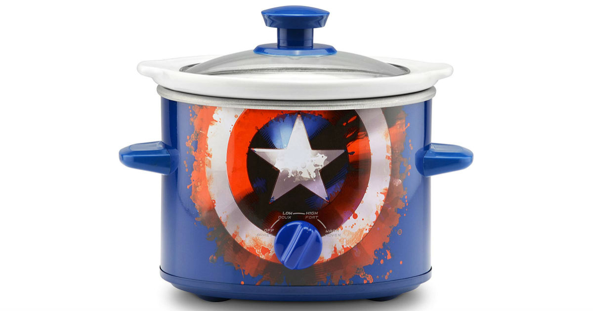 Marvel Captain America Slow Cooker ONLY $10.42 (Reg. $20)