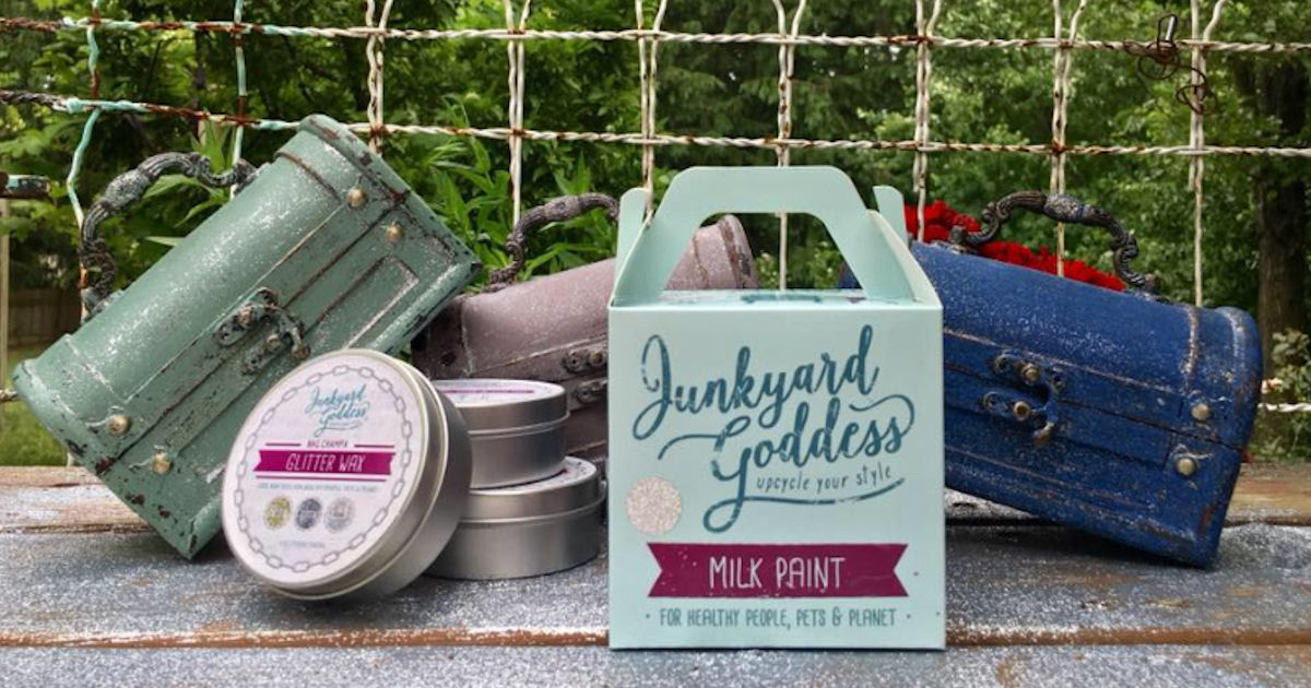 Free Sample of Junkyard Goddess Glitter Milk Paint - Free