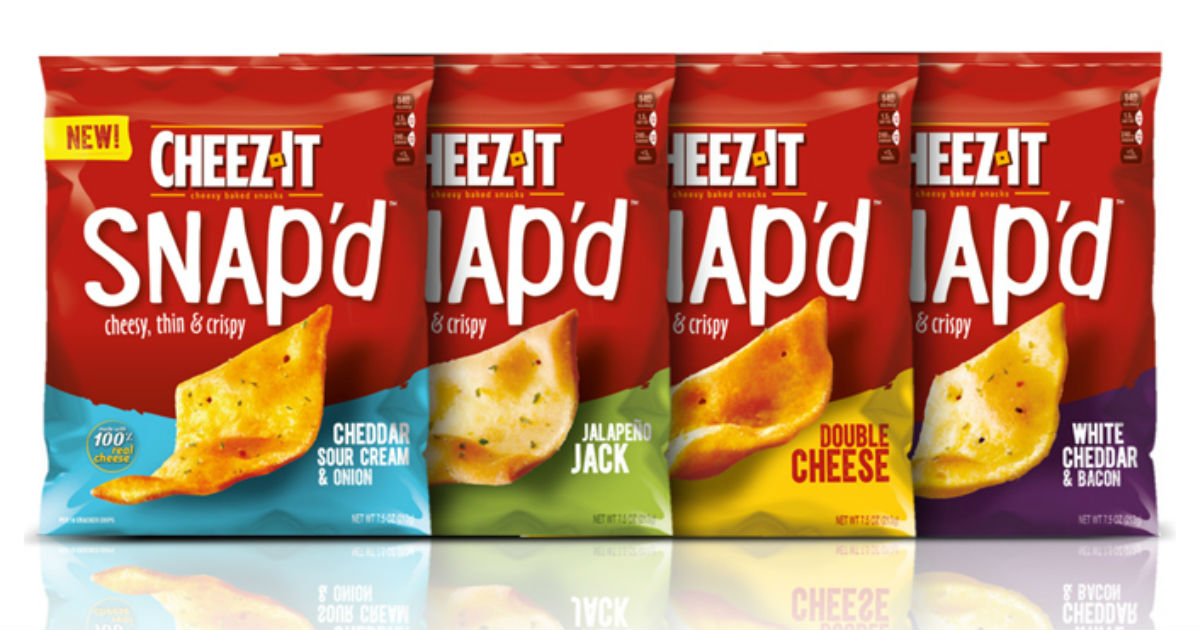 Cheez-It Snap'd Crackers Only $1.00 at Target