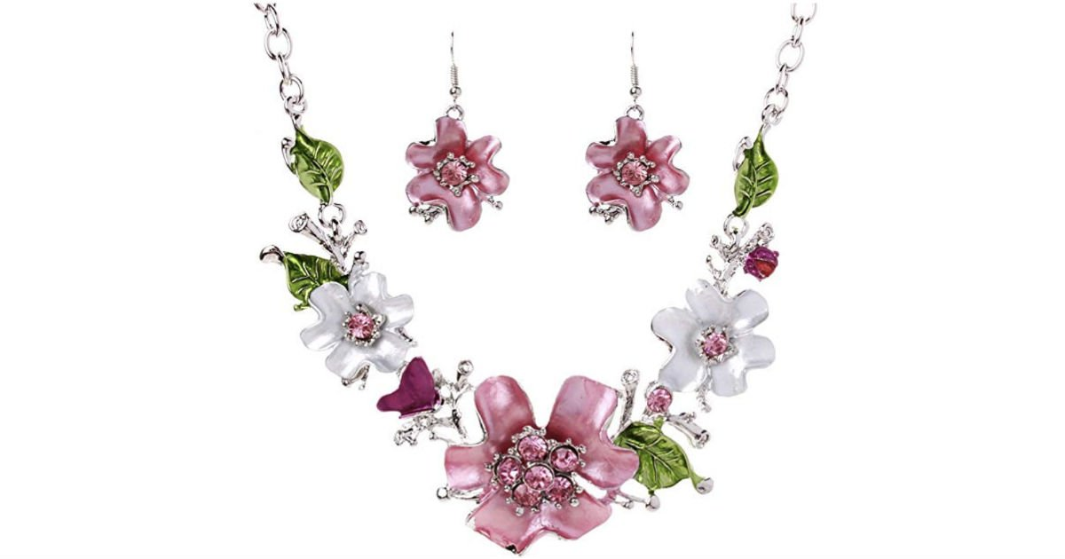 Rhinestone Flower at Amazon