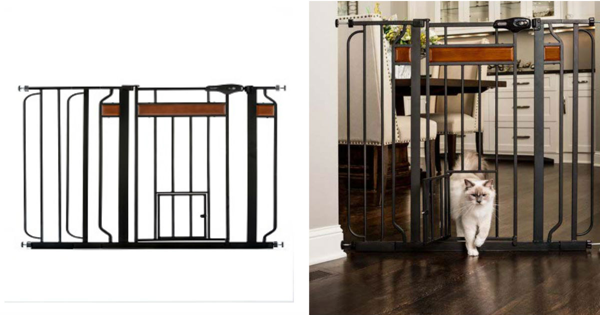Carlson Metal Pet Gate ONLY $4...