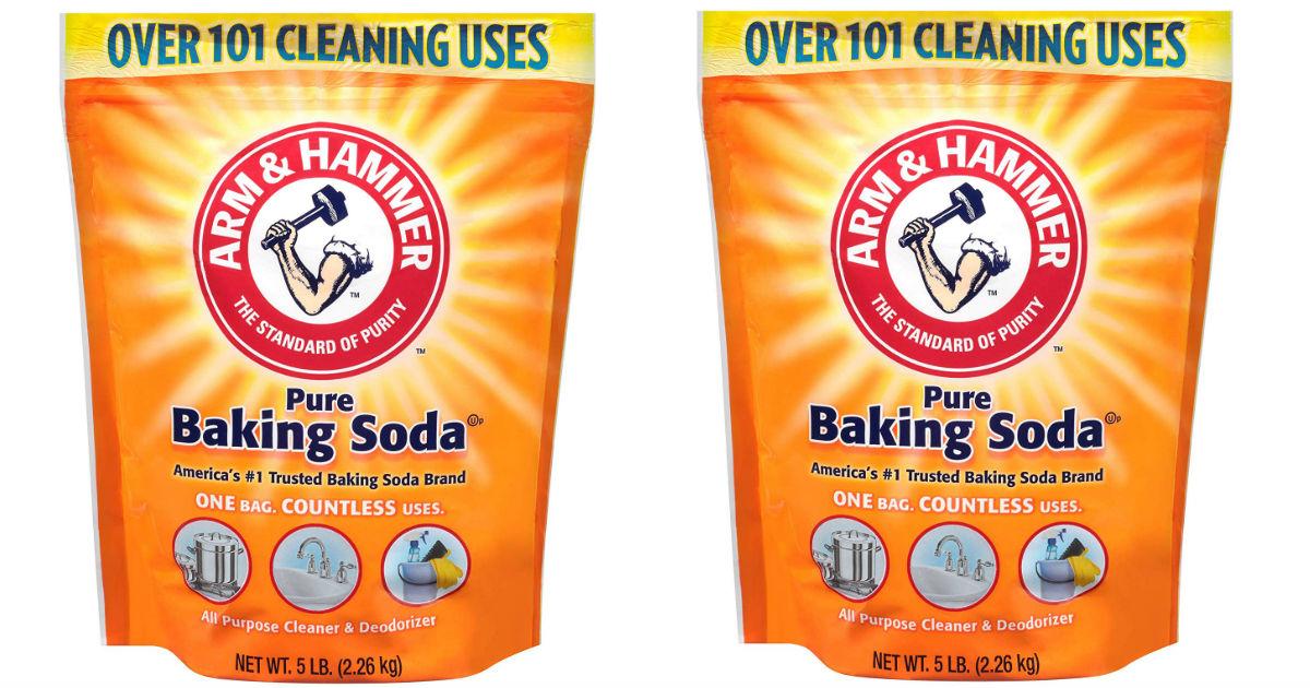 Arm & Hammer Baking Soda 5 Lbs ONLY $3.41 (Reg $7)