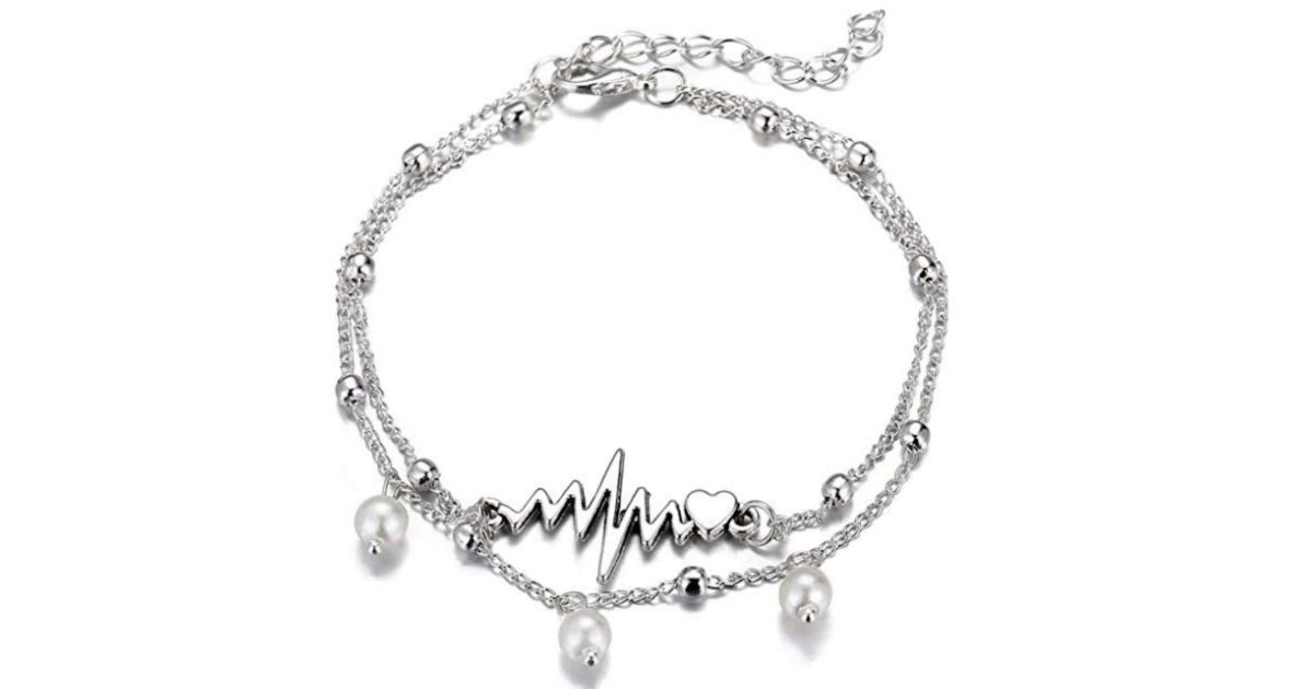 2 Layers Beach Foot Chain Anklet Bracelet ONLY $2 Shipped