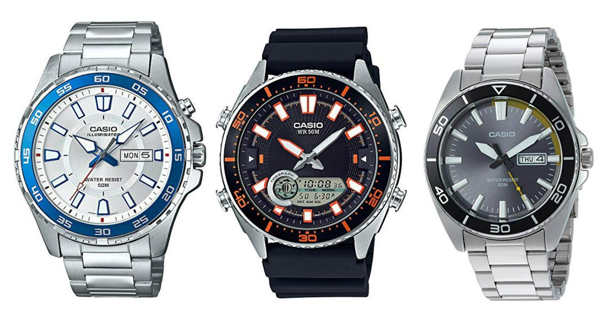 Today Only: Save up to 77% on Casio Men's Watches