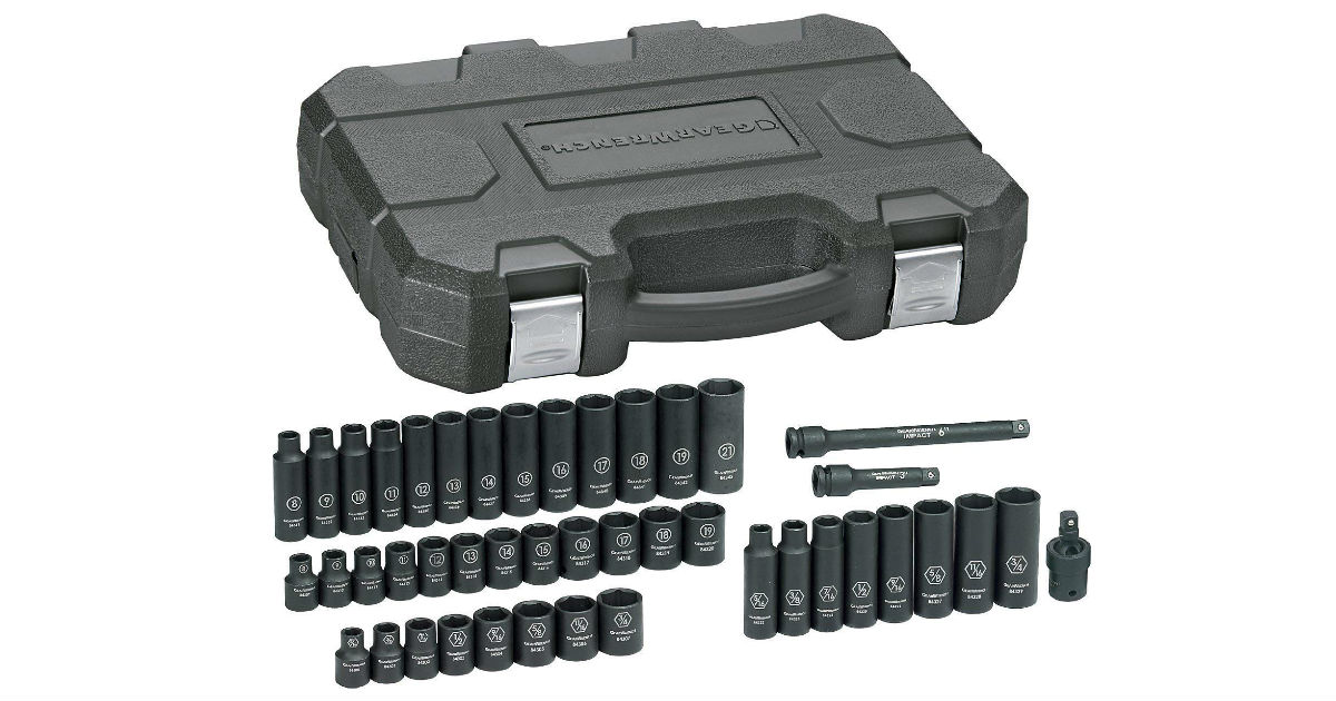 GearWrench Socket Set ONLY $62.72 (Reg. $155)