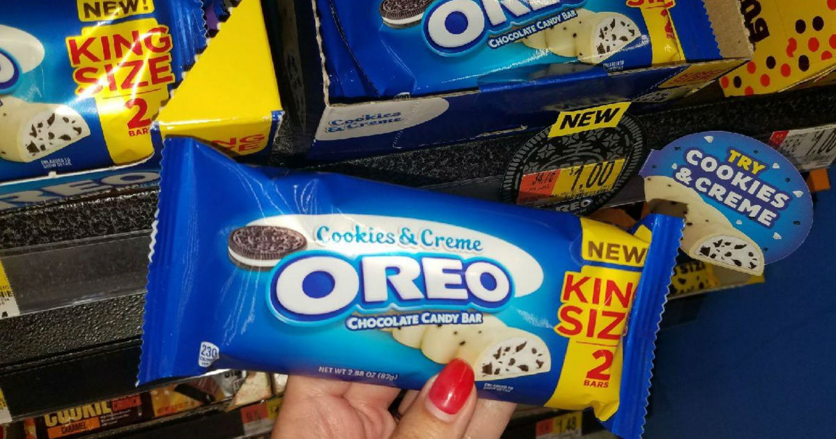 Oreo Cookies Creme King Size Bar Sale 200 Walmart Giveaway Daily Deals Coupons