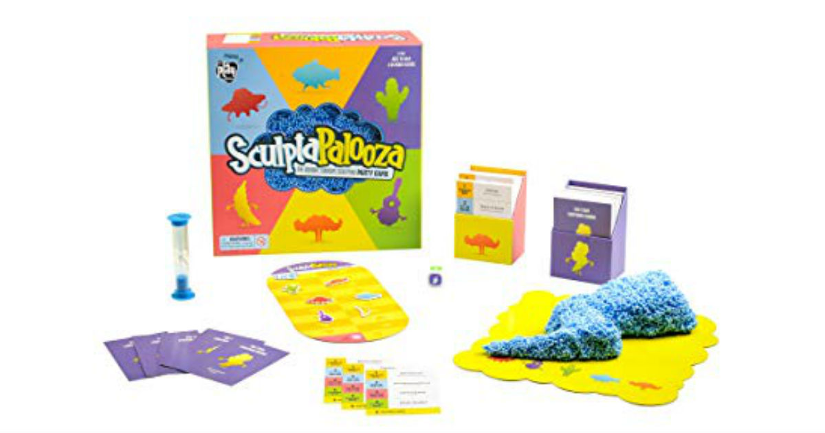 Sculptapalooza Party Game ONLY $4.98 (Reg. $20)