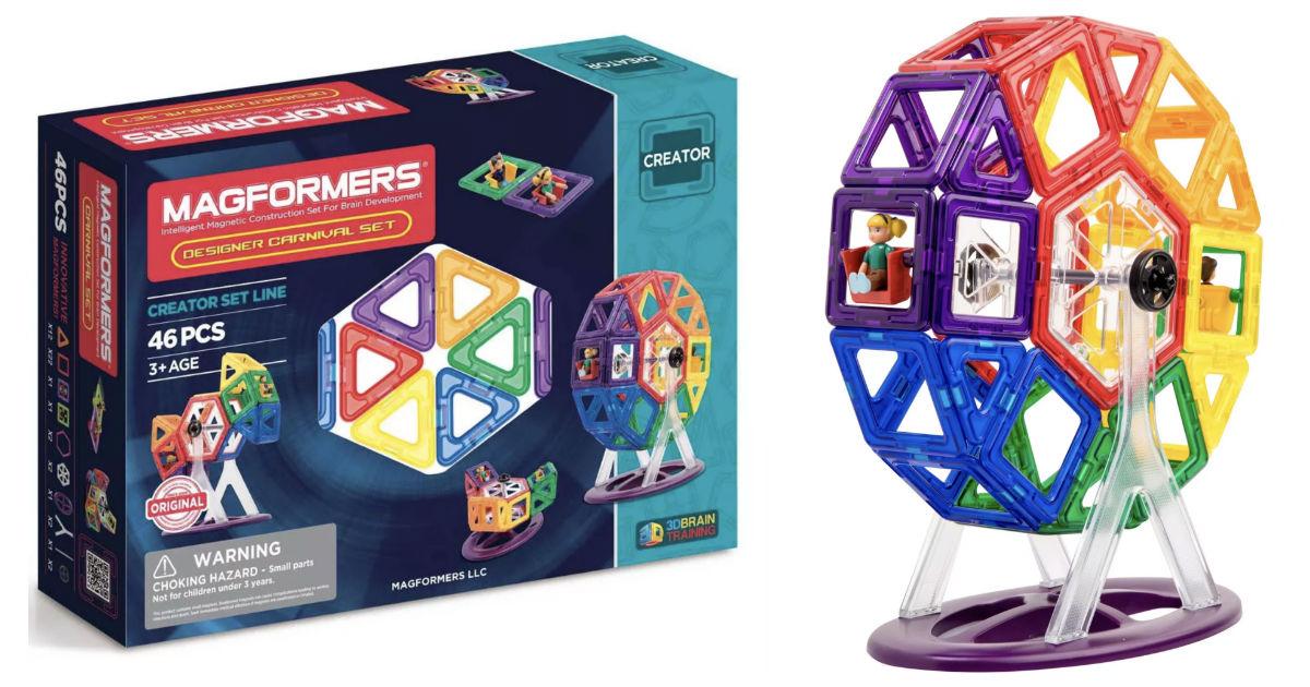 Magformers Creator Line Designer Carnival 46-Pcs Set ONLY $46.49