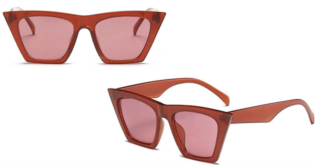 Fashion Cat Eye Marine Sunglas...