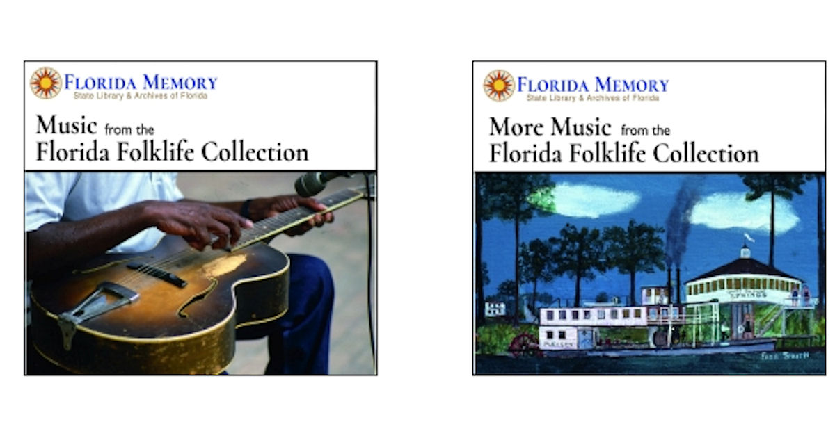 FREE Florida Memory Music CDs.